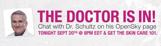The Doctor Is In! Chat with Dr. Schultz on his OpenSky Page