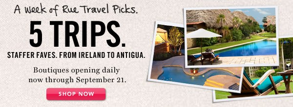 5 Trips. Shop Now.