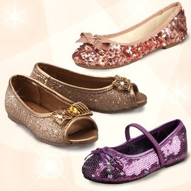 Sparkling Steps: Girls' Shoes