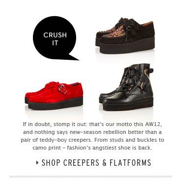 CRUSH IT - Shop Creepers & Flatforms