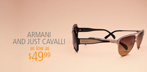 Armani and Just Cavalli