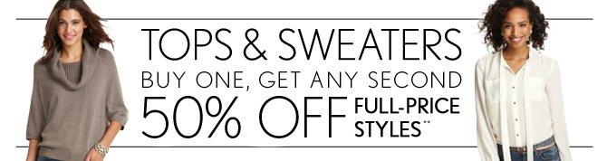 TOPS & SWEATERS