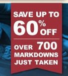 60% off Sale and Clearance