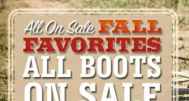 Fall Favorite Boots on Sale