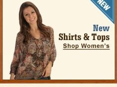 New Women's Shirts and Tops