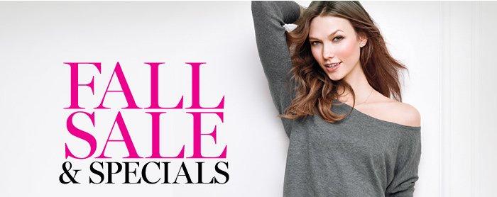 Fall Sale & Specials