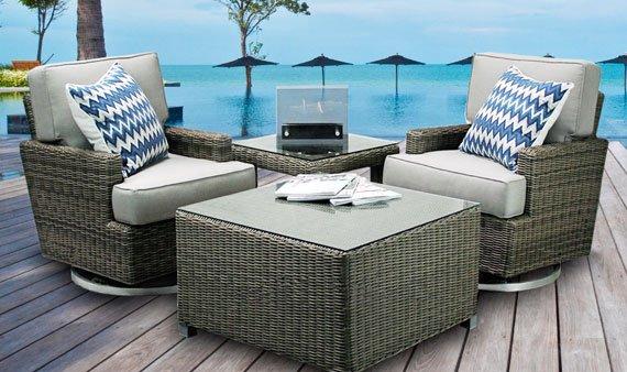 Designer Outdoor Specialty Furniture-- Visit Event