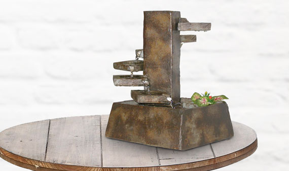 Relaxing Indoor and Outdoor Fountains   -- Visit Event