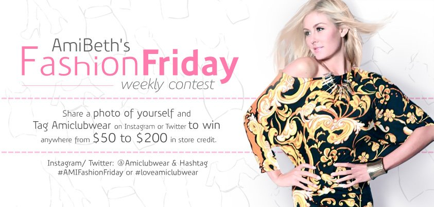 It's Fashion Friday at AMI Clubwear!