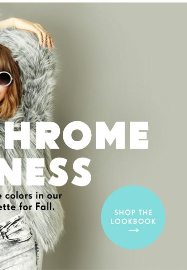 Show your true colors in our updated palette for Fall