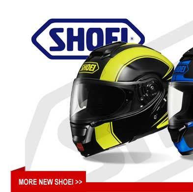 New Shoei Helmets