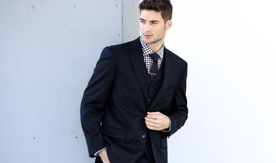 Suit Up Men  -- Visit Event
