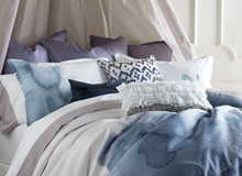 The Color of Calm Soft Blue Bedding