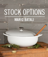 Stock Options. Mario Batali.