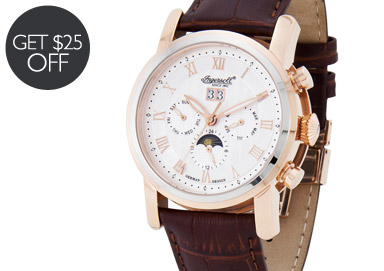 Shop Designer Watches Feat. Ingersoll