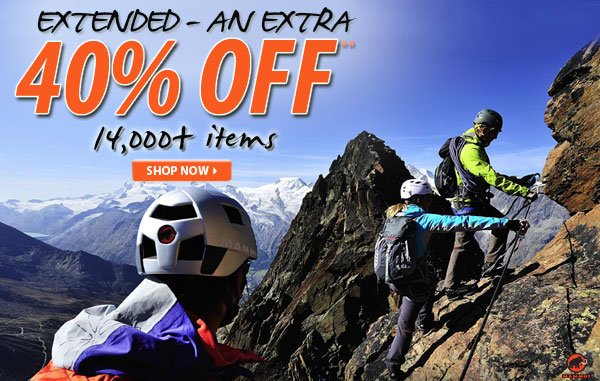 Extended - Top Secret Sale! An Extra 40% OFF over 14,000 Items!