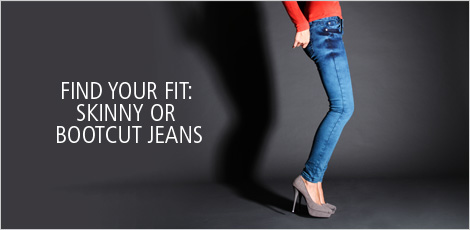Find Your Fit: Skinny Or Bootcut Jeans