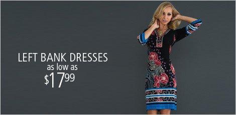 Left Bank Dresses