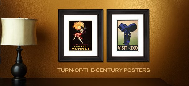 TURN-OF-THE-CENTURY POSTERS, Event Ends September 26, 9:00 AM PT >