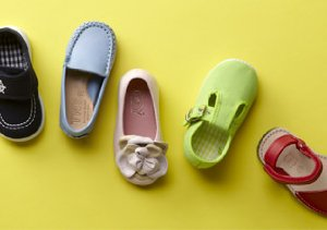 KIDS' SHOES FROM CHUCHES, TINNY & MORE