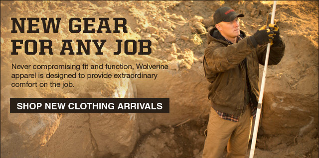 New Gear For Any Job