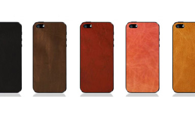 Shop Premium Leather Skins feat. iPhone 5
