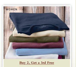 Women - Buy 2, Get a 3rd Free