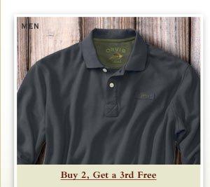 Men - Buy 2, Get a 3rd Free