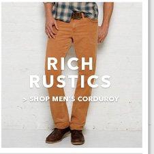 Shop Men's Corduroy