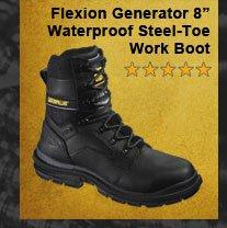 """Flexion Generator 8"""" Waterproof Steel-Toe"""