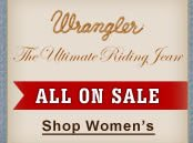 ultimate Wrangler Riding Jeans