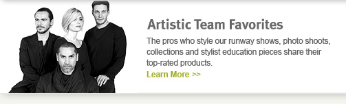 artistic team favorites. learn more.
