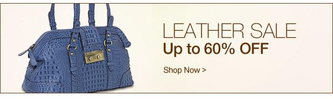 Shop Leather Sale
