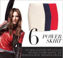 6 POWER SKIRT