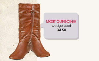 Wet Seal - Most Popular - Wedge Boot