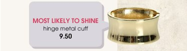 Wet Seal - Most Popular - Metal Cuff