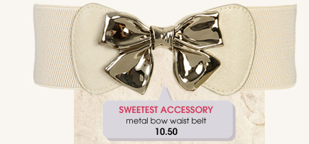 Wet Seal - Most Popular - Bow Belt