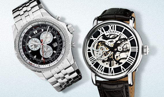 Classic Timepieces: For Him   -- Visit Event