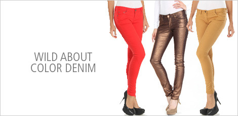 Wild About Color Denim
