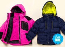 Bundle Them Up Outerwear for Kids & Babies