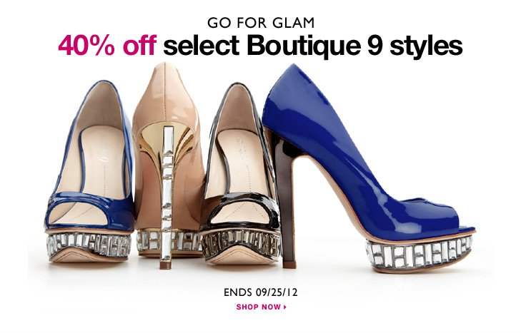 Click here to shop Boutique 9