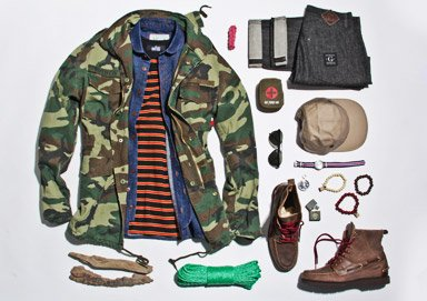 Shop Fresh Camo: Military-Inspired Style