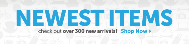 Newest Items - check out over 300 new arrivals! Shop Now