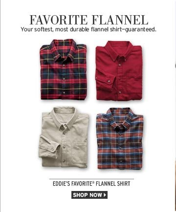 Relaxed Fit Eddie's Favorite Flannel Shirt
