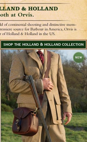 Shop the Holland & Holland Collection