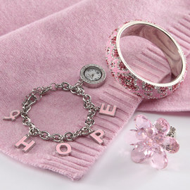 Pink & Powerful: Accessories & Intimates