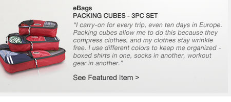 eBags | Packing Cubes - 3pc Set