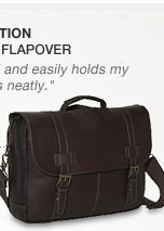 Kenneth Cole Reaction | Columbian Leather Flapover
