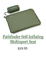 Pathfinder Self-Inflating Multisport Seat, $19.95