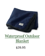 Waterproof Outdoor Blanket, $39.95